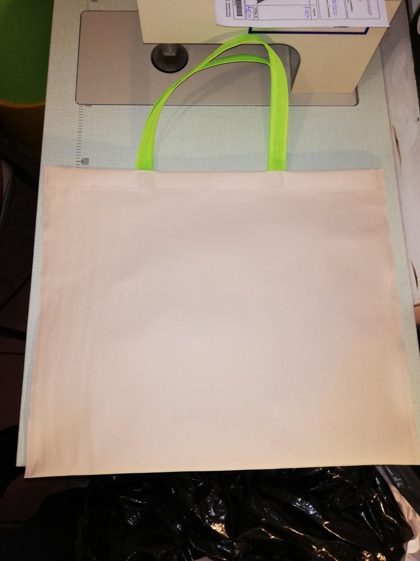 e4aad7c38 bolsa ecológica lisa 40x40cm friselina apta para sublimar. Cargando zoom.