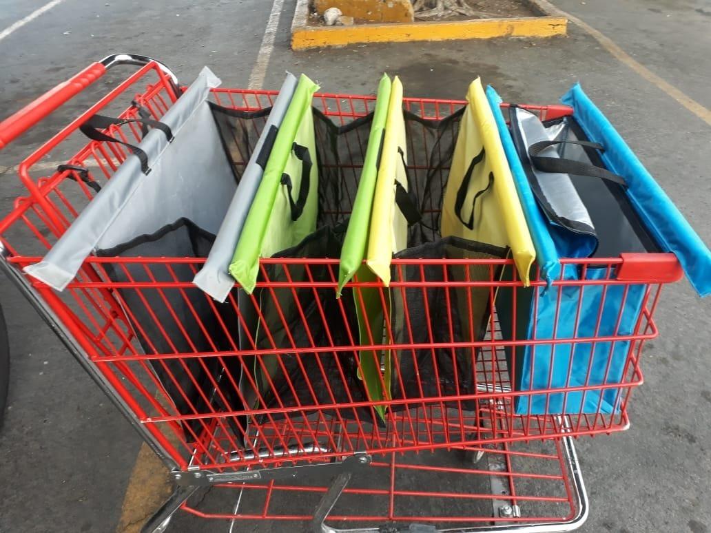 06c04366b bolsa ecológica para carrito supermercado gran resistencia. Cargando zoom.