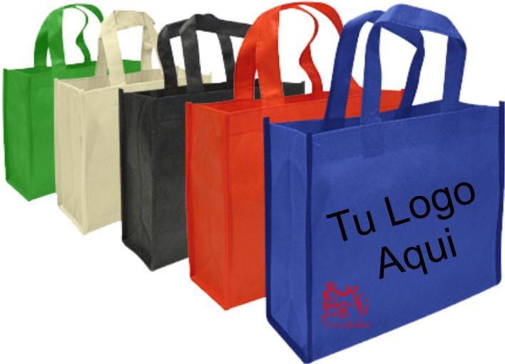 480a93f97 Bolsa Ecologica Tnt Estampada 25x20x8 Cm - $ 750 en Mercado Libre