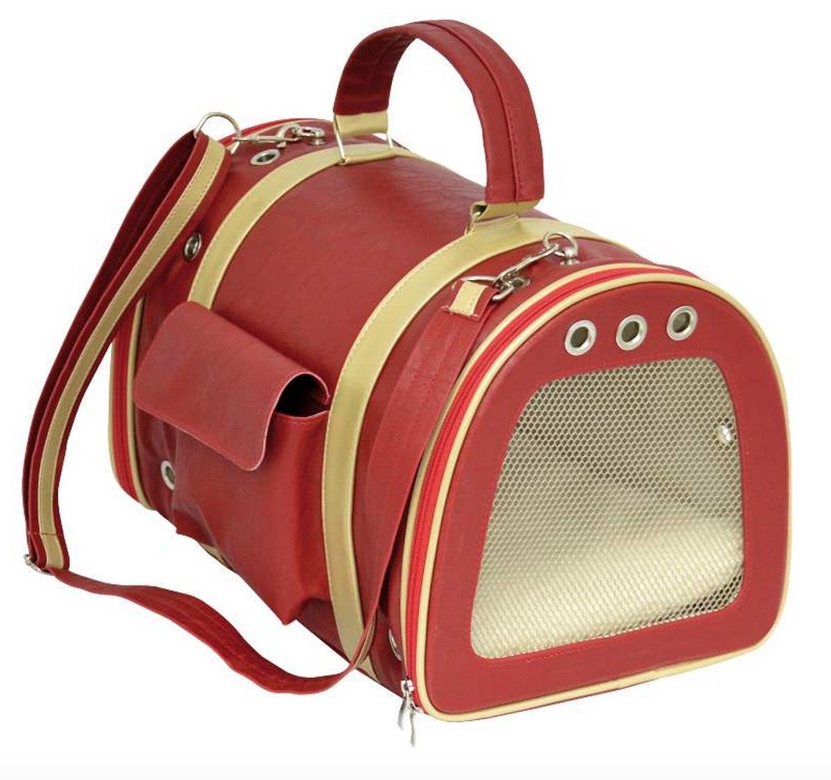 Bolsa Para Transporte De Cachorro Em Avião : Bolsa em courino red para c?es viagens de avi?o r
