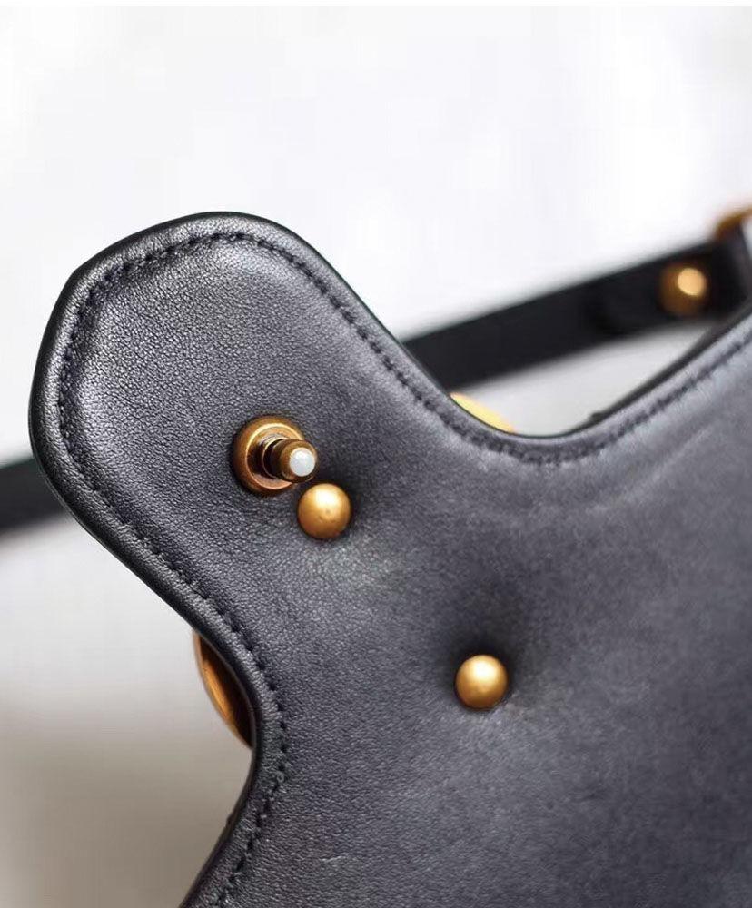 8bf8cc60d66 bolsa em couro gucci gg marmont feminina - pronta entrega. Carregando zoom.
