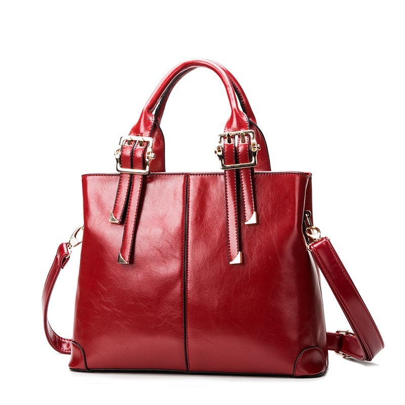 Bolsa Feminina De Couro Legitimo : Bolsa em couro legitimo feminina importado pronta entrega