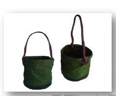bolsa em lona para içar ferramentas (balde)