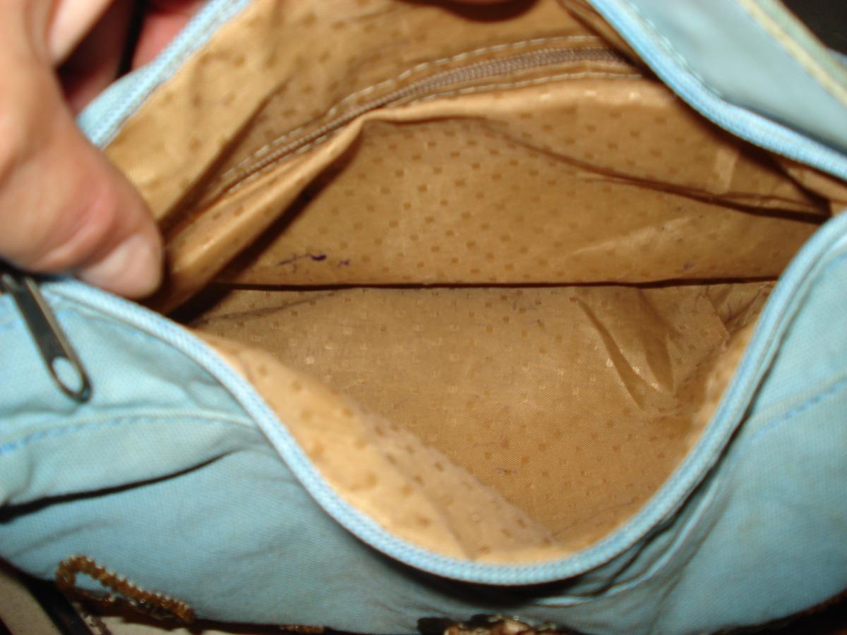 Bolsa De Tecido Forrada : Bolsa em tecido forrada com bordados pedrarias r
