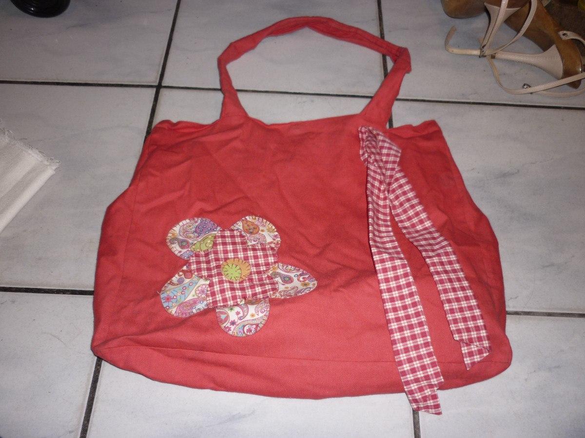 Bolsa De Tecido Quiltada : Bolsas tecido artesanato