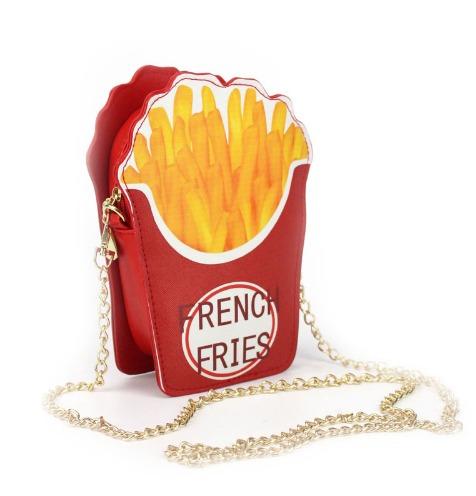 bolsa en forma de papas fritas