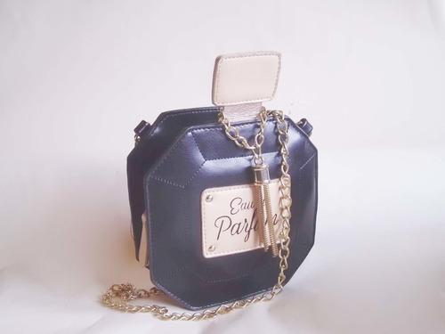 bolsa en forma de perfume