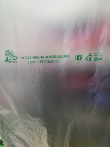 bolsa en rollo biodegradable 25x35