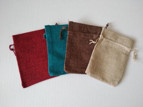 bolsa en yute para japa malas 13 x 18 cms