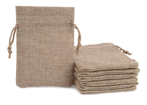 bolsa en yute para japa malas 9 x 6 cms