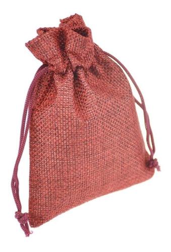 bolsa en yute para japa malas budista y tibetanos