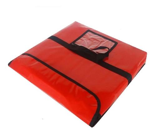 bolsa envelope térmica de 40 cm ( big ) p/ uma pizza 10 und.