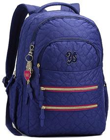 582005588 Mochila Lisa - Mochilas Escolar Azul escuro no Mercado Livre Brasil