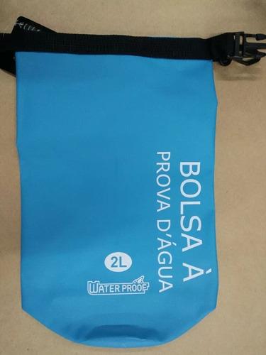 bolsa esportiva impermeável water proof saco estanque 2l