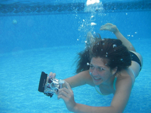 bolsa estanque câmaras digitais pronta entrega