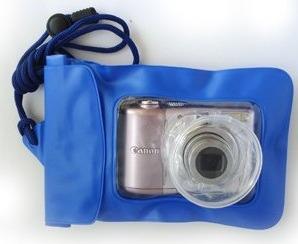 bolsa estanque câmeras digitais / capa case prova d'água