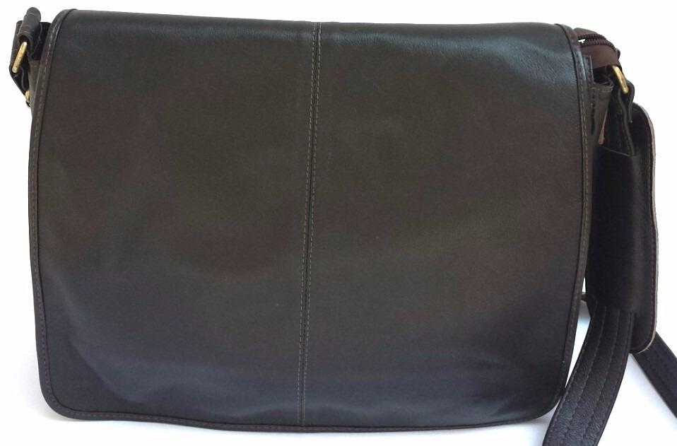 096a6ecbb bolsa estilo carteiro pasta tiracolo de couro legítimo. Carregando zoom.