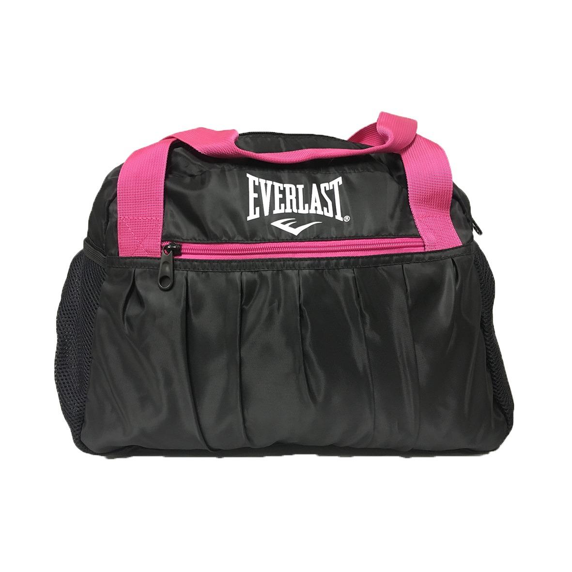 d2050c4a2 Bolsa Everlast Feminina Preto/rosa - R$ 99,90 em Mercado Livre