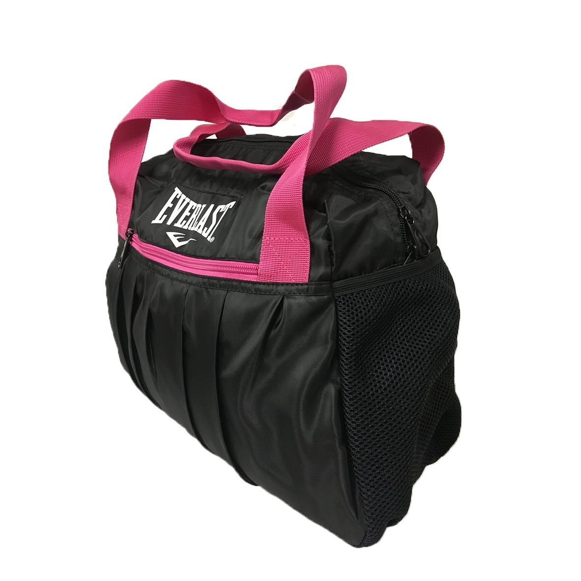 84a769c71 Bolsa Everlast Feminina Preto/rosa - R$ 99,90 em Mercado Livre
