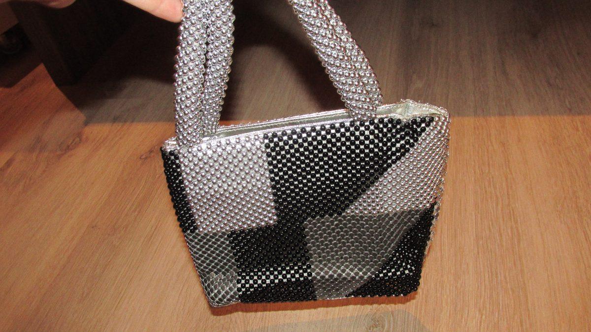Bolsa De Festas Prata : Bolsa fashion de festa prata e preta combina com tudo