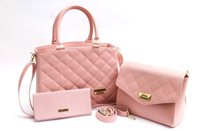 a2fe0812d Bolsa Tamy Couro Ecológico Caramelo - Bolsa Outras Marcas Rosa em ...