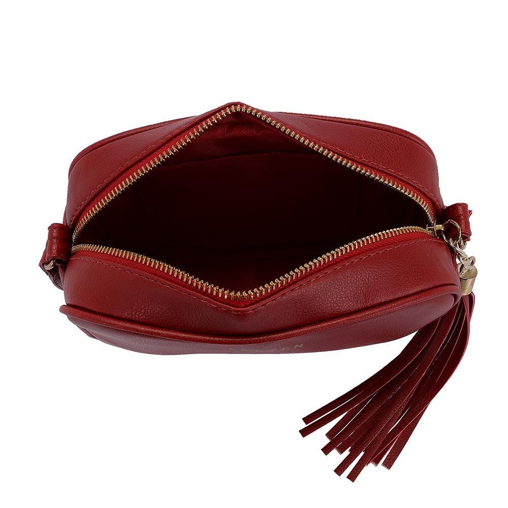 2d49935b2 Bolsa Feminina Pequena Alça Lateral Mini Bag Selten - R$ 89,90 em ...