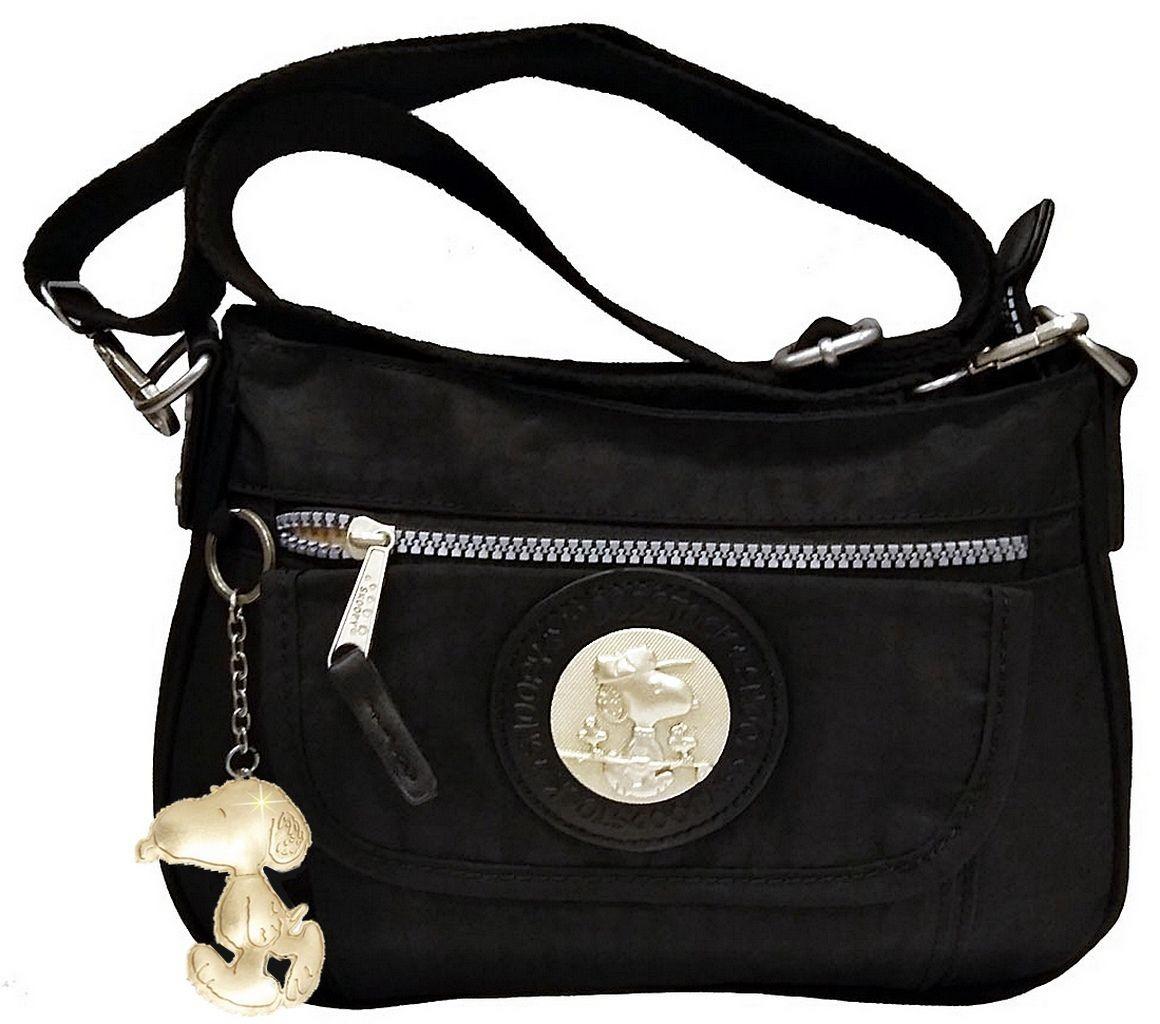 5eb477cd8 bolsa feminina alça tiracolo barato preta transversal snoopy. Carregando  zoom.