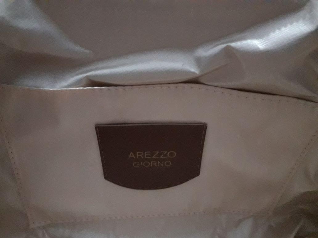 0f6a49fd5 bolsa feminina arezzo giorno couro sintetico transversal. Carregando zoom.