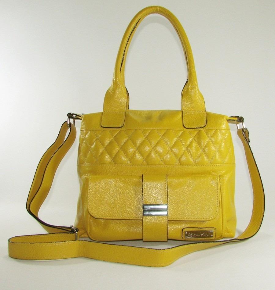 960d997a4 Bolsa Feminina Baú Couro Legítimo Couribi - R$ 219,90 em Mercado Livre
