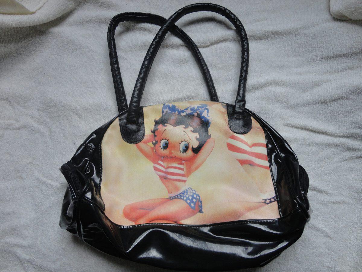 Bolsa Feminina Betty Boop : Bolsa feminina betty boop r em mercado livre