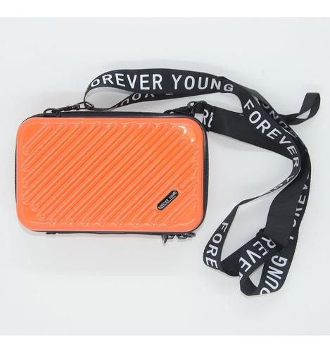 bolsa feminina blogueira laranja forever young