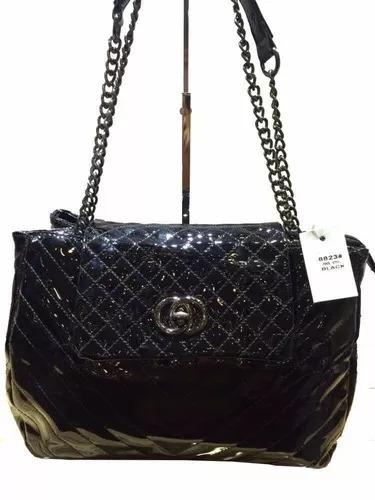 3ca81c9b2 Bolsa Feminina Envernizada Social Excutivo Luxo(dois Bolsas) - R$ 79 ...