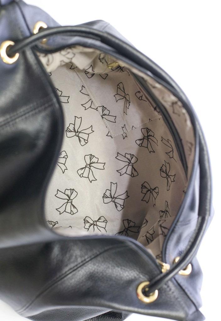 7ddc39ffe bolsa feminina brilho da pele couro legítimo grande preta. Carregando zoom.