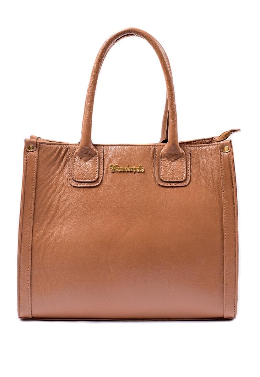 6163697c1 bolsa feminina brilho da pele couro legítimo marrom caramelo. Carregando  zoom.