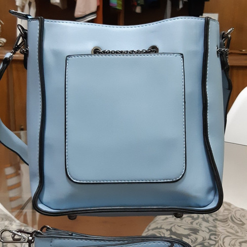 bolsa feminina candy blue