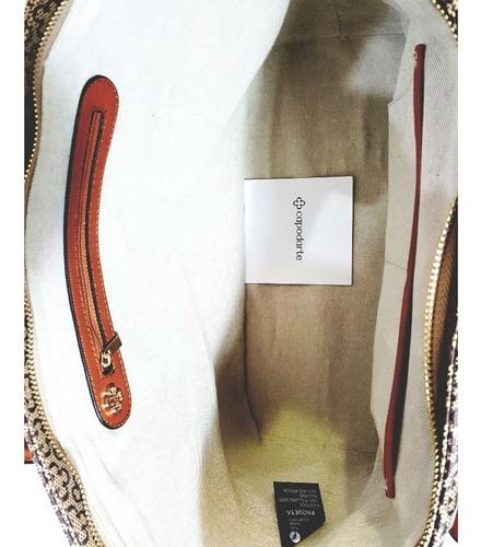 bolsa feminina capodarte grande básica 4602077