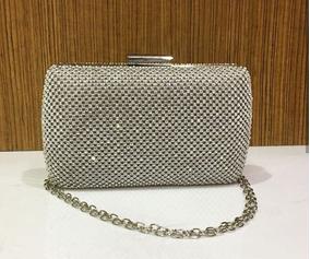 d0f0ae328 Bolsa Clutch Prata Strass - Calçados, Roupas e Bolsas Dourado escuro no  Mercado Livre Brasil