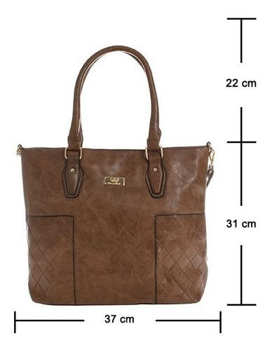 bolsa feminina com carteira importada tiracolo média linda