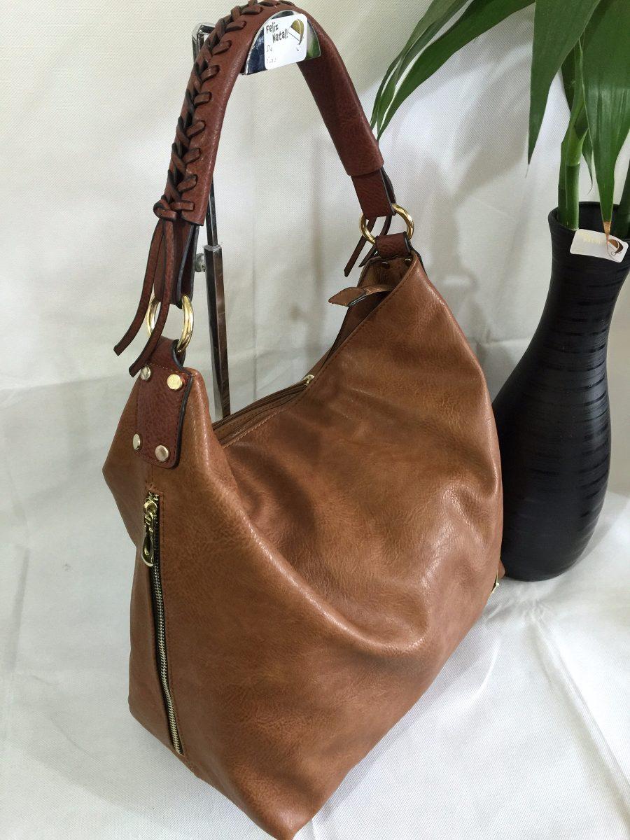 Bolsa De Ombro Comprar : Bolsa saco feminina importada de ombro em couro colecao