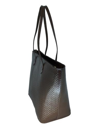 0fc4a1e29 bolsa feminina grande de couro legítimo ombro tote sacola. Carregando  zoom... bolsa feminina couro