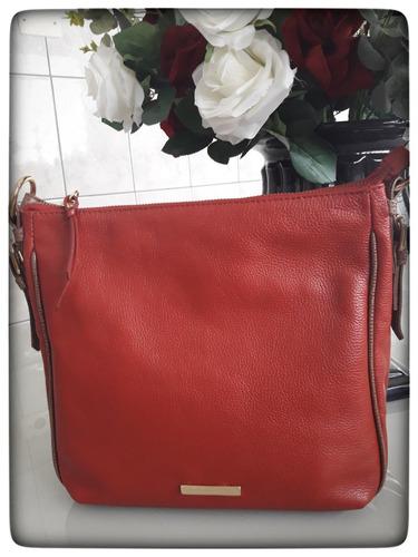 397089e0c bolsa feminina tiracolo em couro legítimo liquidação. Carregando zoom... bolsa  feminina couro