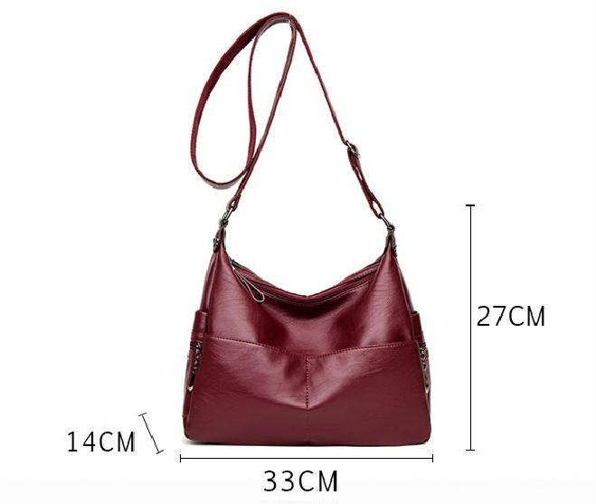 287e6ab842 Bolsa Feminina Couro Legítimo Frete Gratis Peça N° 5 - R  189
