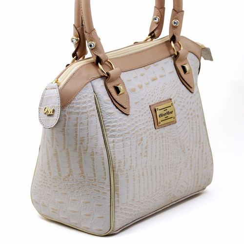 bolsa feminina couro legitimo marca oliver mour super luxo