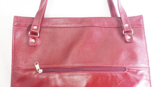 fdb2e9d67 Bolsa Feminina Couro Legítimo Transversal Elegante Vermelha - R$ 197 ...
