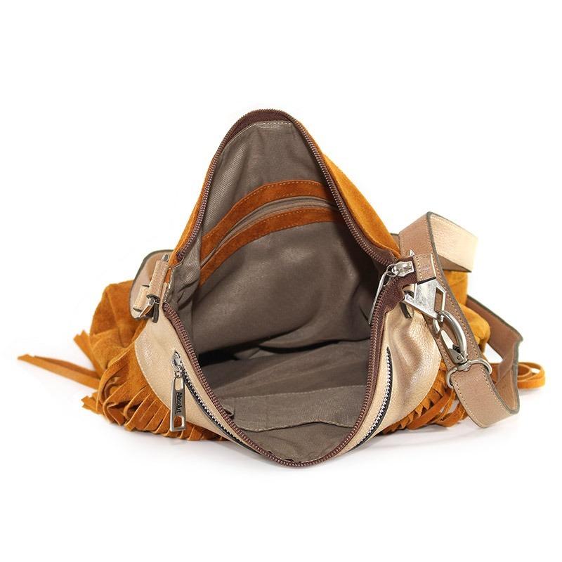 b31cc0090 bolsa feminina couro legitimo transversal giovana caramelo. Carregando zoom.