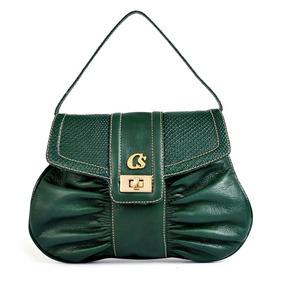d44e12740 Bolsa Carmen Steffens Verde - Calçados, Roupas e Bolsas no Mercado ...