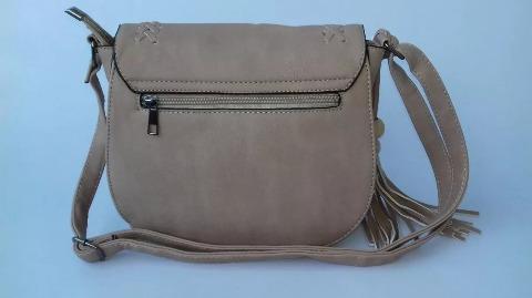 84c665fc3 ... lado tiracolo couro sintético com franja · bolsa feminina couro  sintético