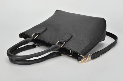 bolsa feminina couro sintetico lisa