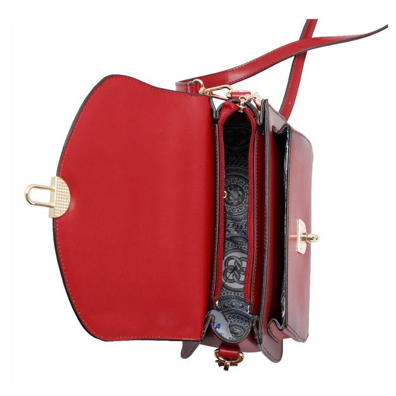 e55ea7313 bolsa feminina d mão alça longa clássico deluxe chenson 1824. Carregando  zoom.