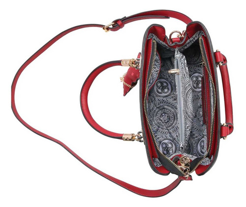 bolsa feminina de luxo fun chik branca chenson 82734 ursinho